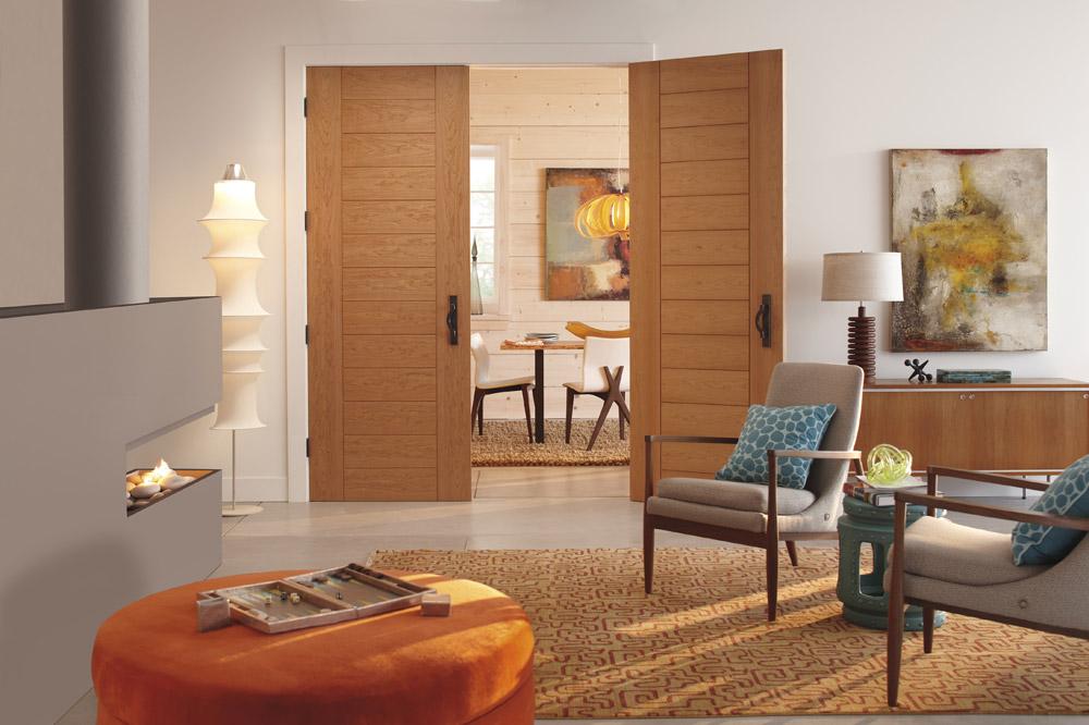 Panel vrata su dostupna u širokom spektru modela, ova vrata se lako uklapaju u svaki enterijer
