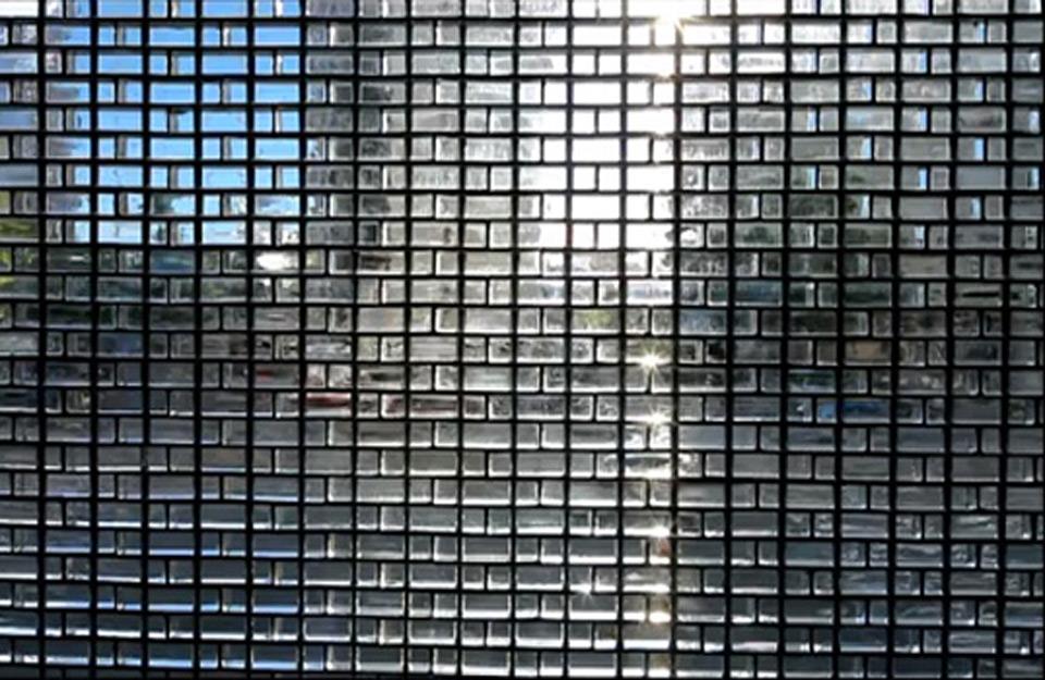 Izgled staklenih blokova fasade