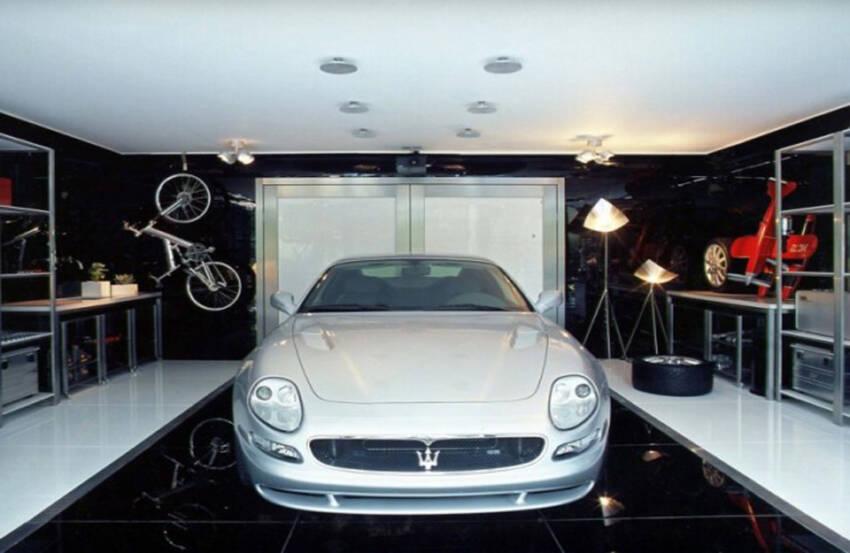 Moderne Live--In garaže