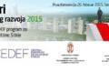 Godišnji CEDEF program za gradove i opštine Srbije
