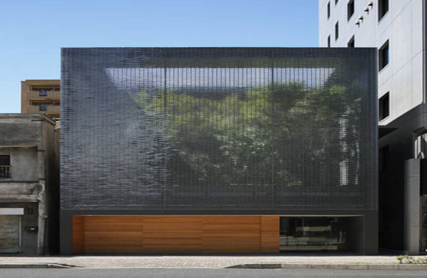 Optička staklena kuća - delo arhitekte Hirošime Nakamura