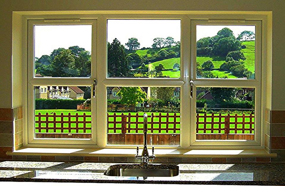Pogled kroz Alu prozore