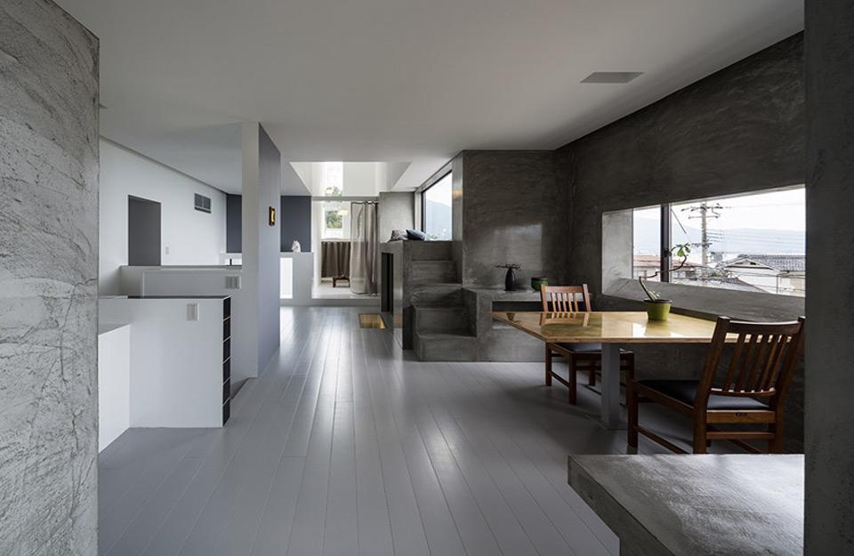 Prikaz unutrašnjosti kuće