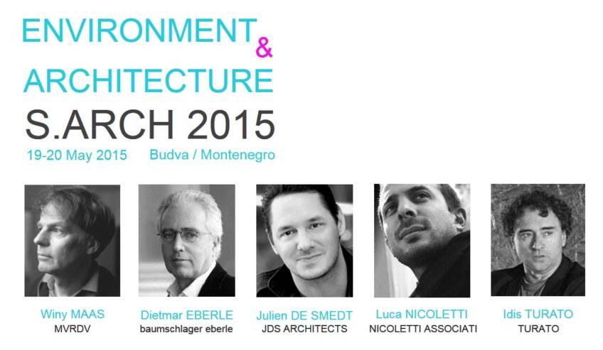 Druga međunarodna konferencija S.ARCH: Okruženje i arhitektura
