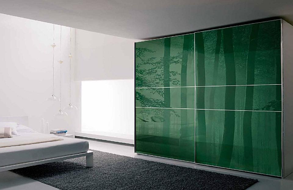 Zelena klizna vrata vašeg garderobera
