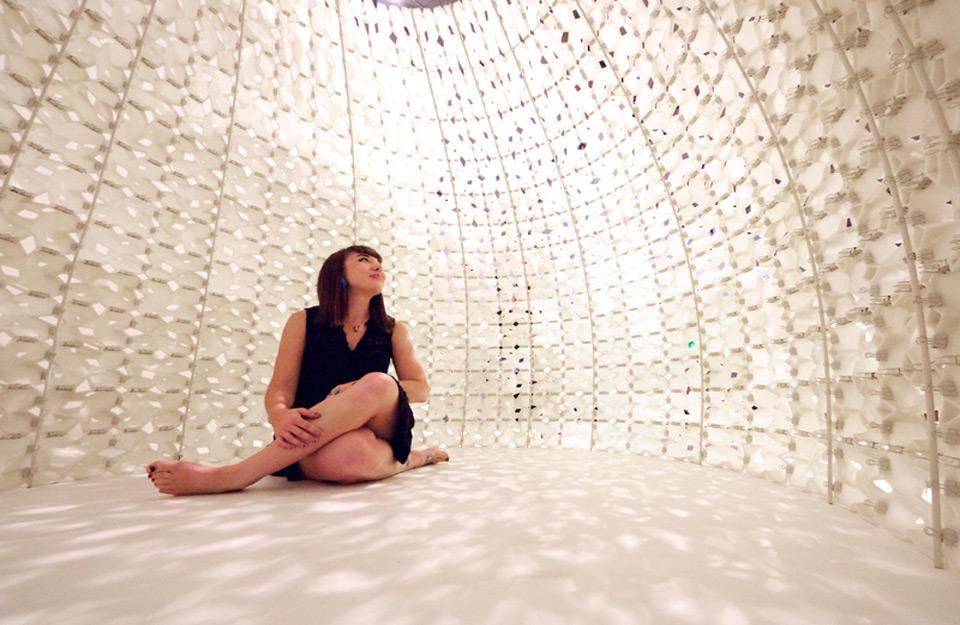Zidovi od 3D-panela od soli