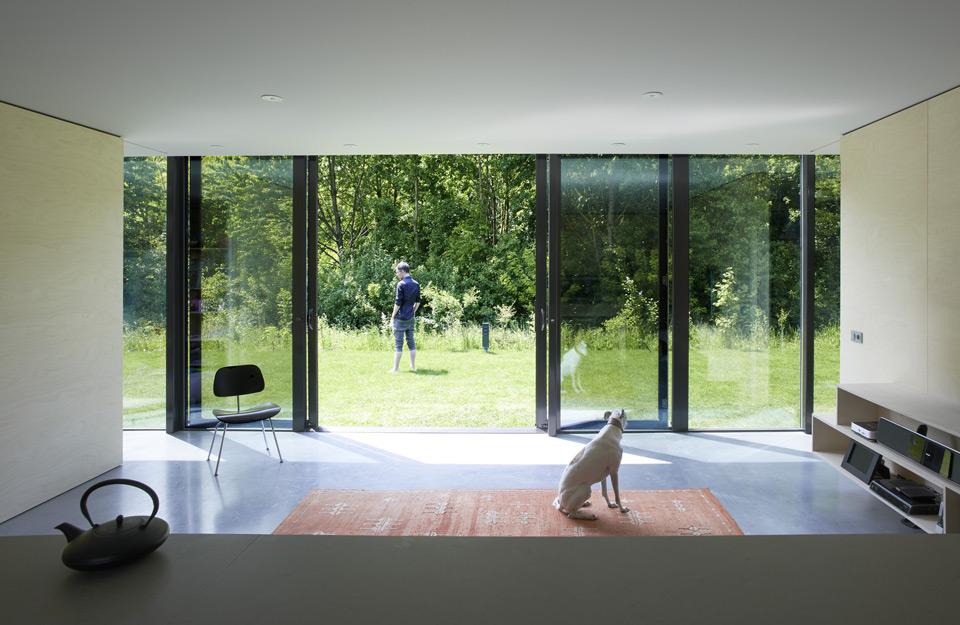 Kuća ogledala iznutra