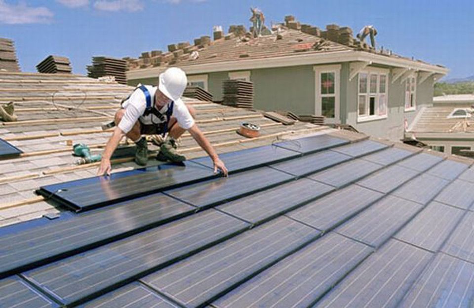 Postavljanje fotonaponskih panela