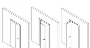 Princip sklapajuċhi sobnih vrata