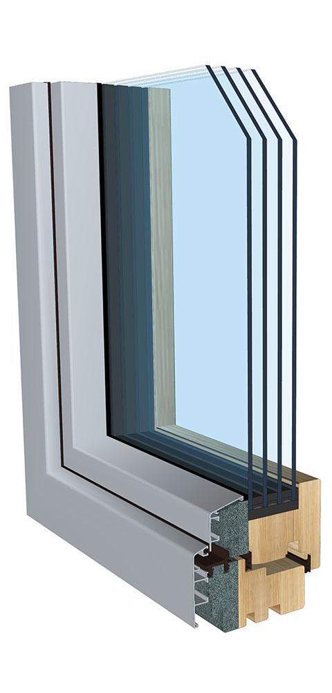 Danas su uobičajeni trostruki prozori