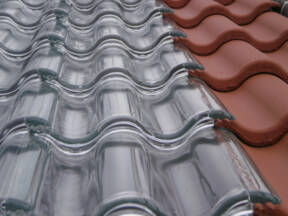 Solarna energija preko stilizovanih staklenih crepova