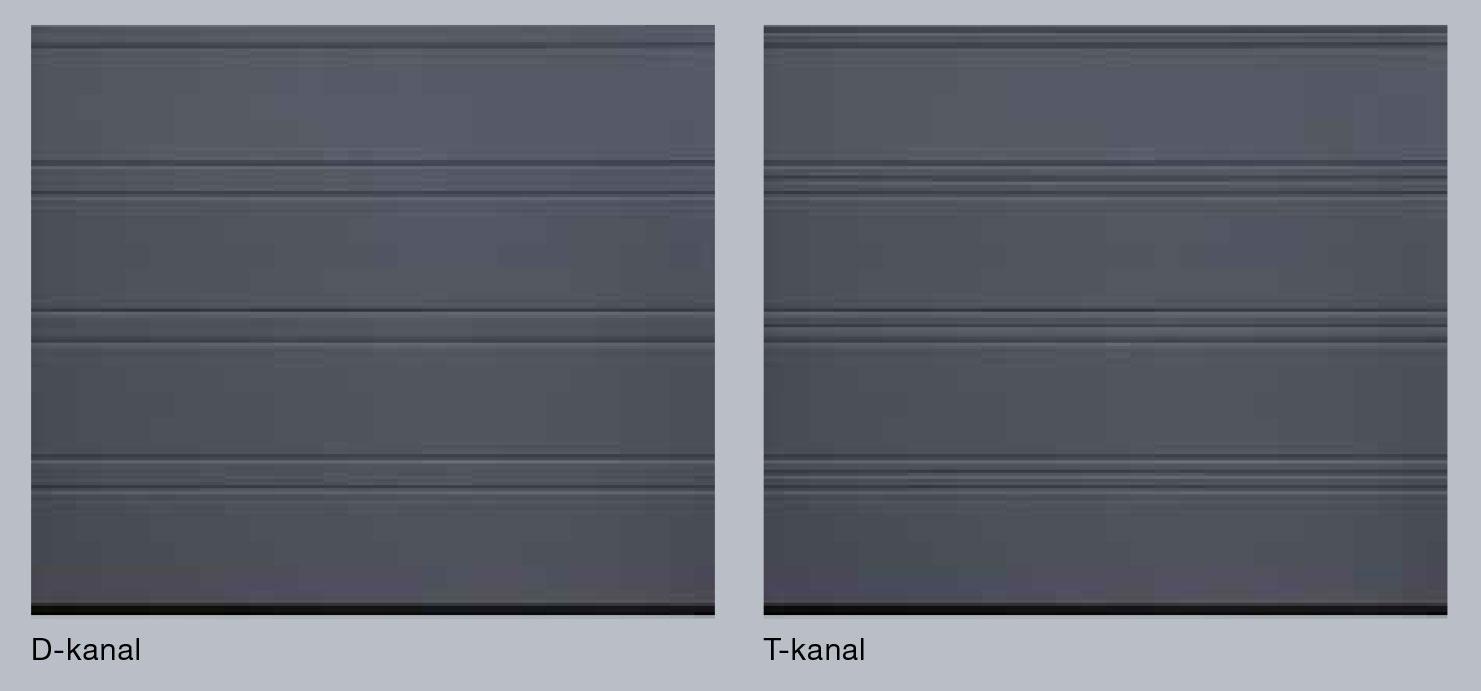 D-kanal; T-kanal