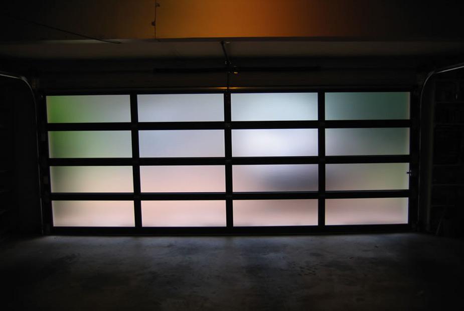 Alu garažna vrata