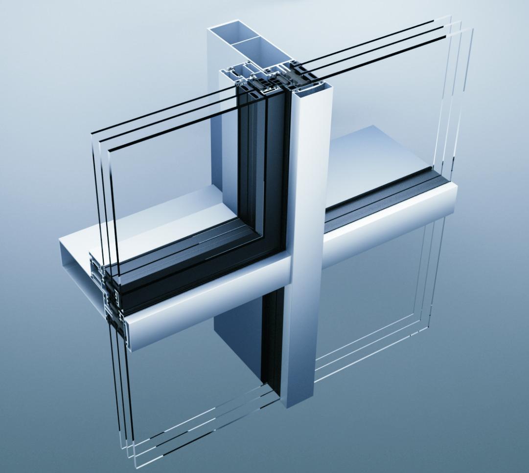 Aluminik CS55 kontinualna fasada
