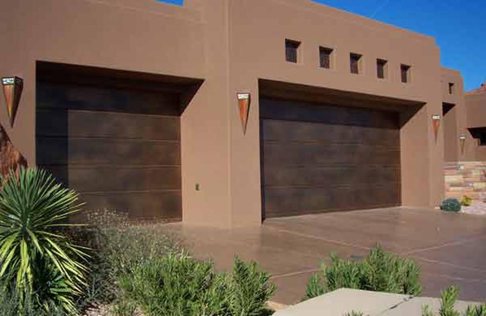 Bakarna garažna vrata