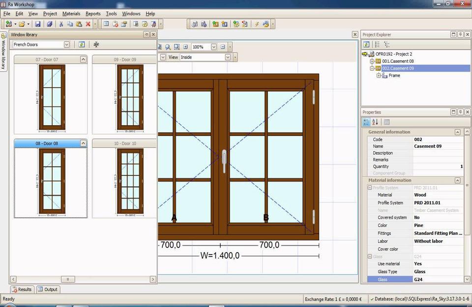 Dizajn prozora i prozorskih okvira