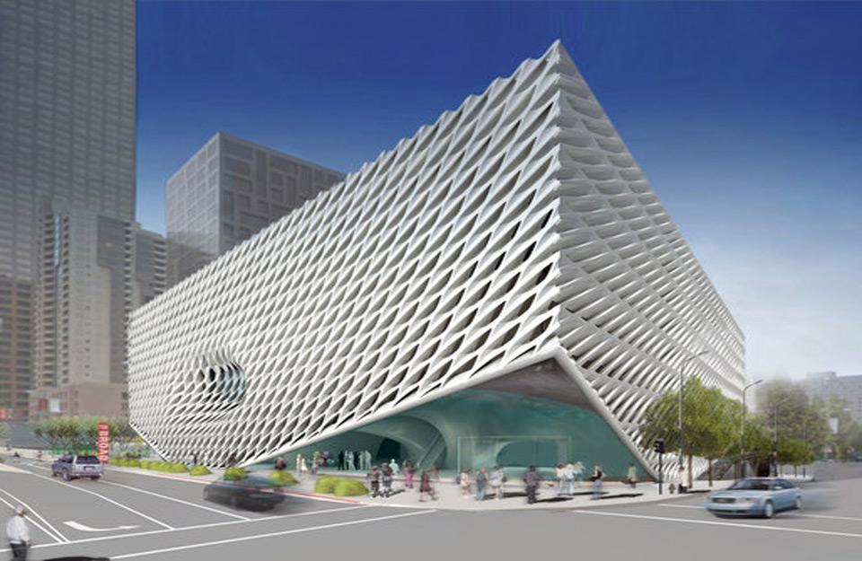 Izgled muzeja u LA