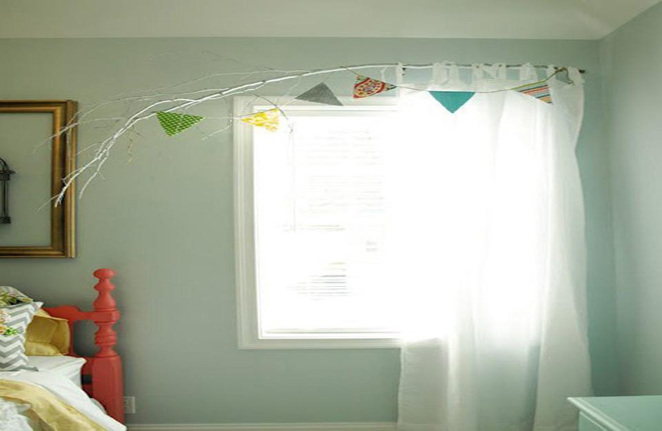 Kreativan način kačenja zavesa