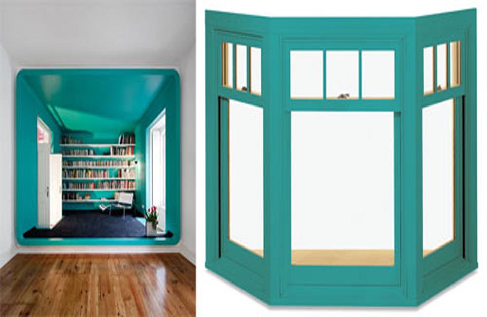 Obojeni prozori koji razigravaju vaše prostorije