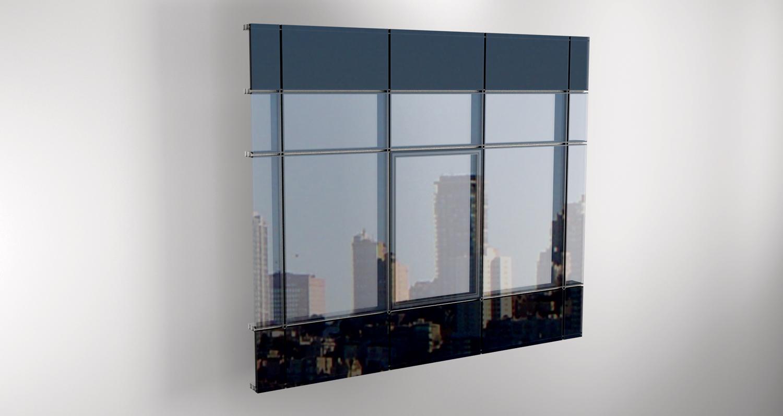 Ostakljene aluminijumske fasade
