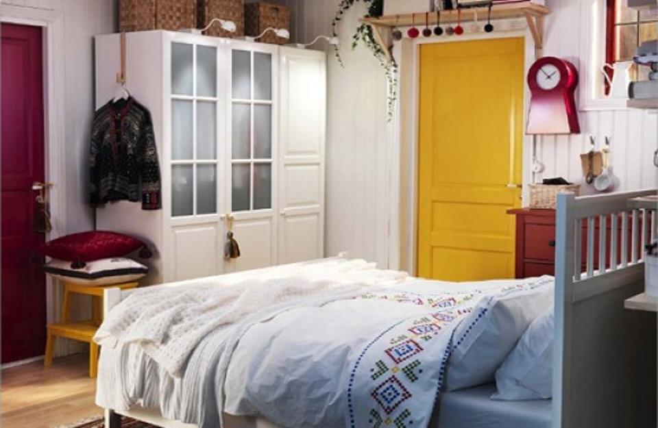 Žuta sobna vrata