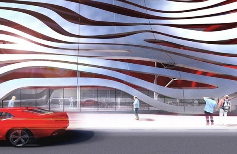 Auto-muzej sa dinamičnom fasadom