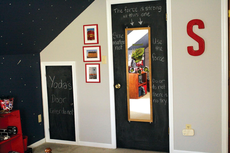 Vrata koja će se pretvoriti u table po kojima se može pisati