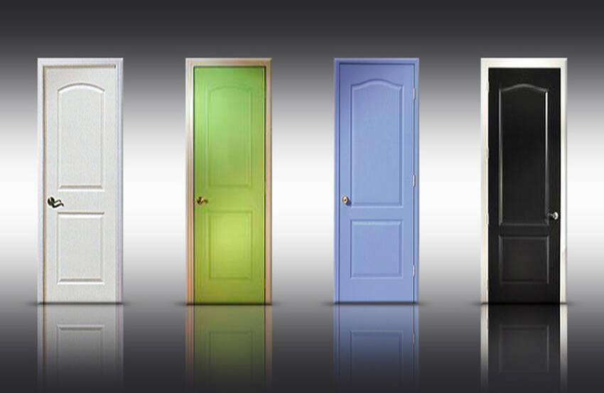 Različiti izbor boja sobnih vrata