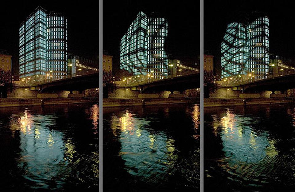 Svetleća zgrada u Beču