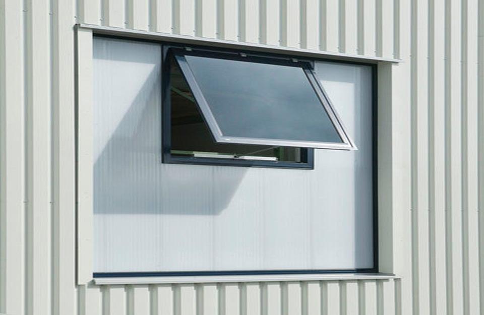 Aluminijumsk okviri nagnutih prozora