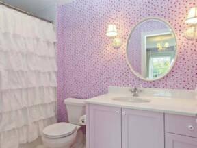 Dekorativne zavese u kupatilu