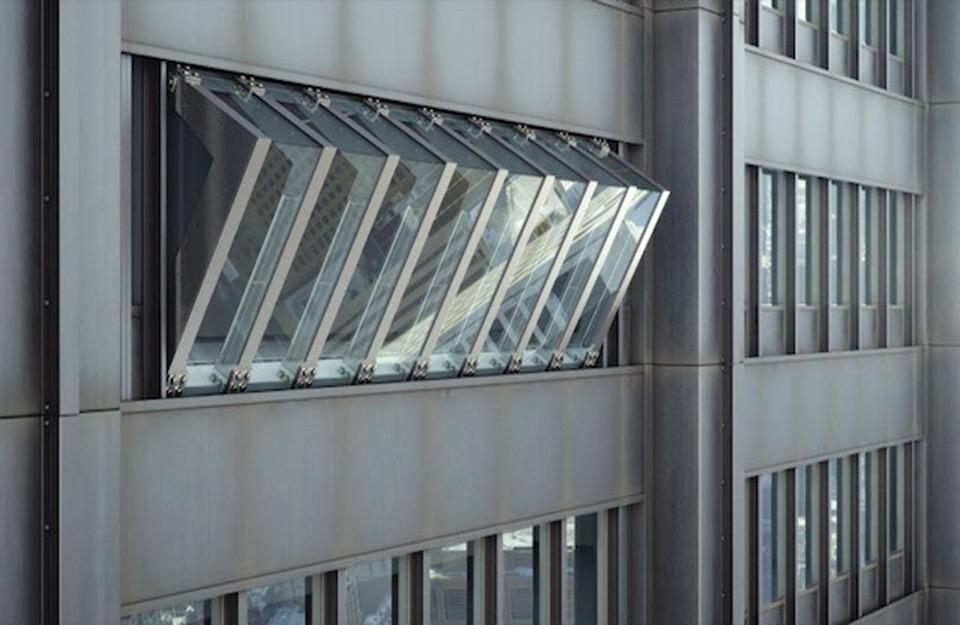 Izgled nagnutih prozora