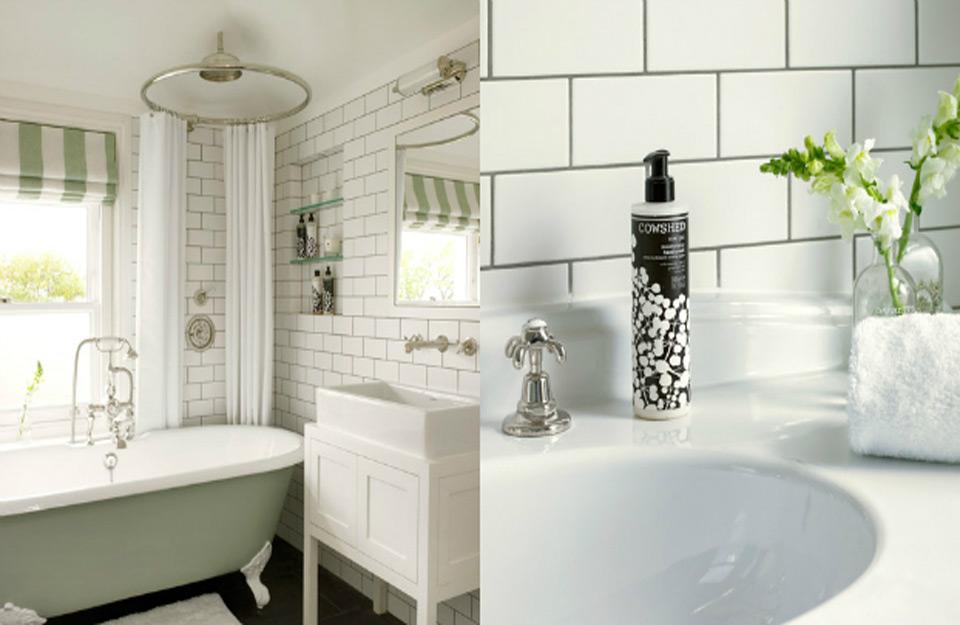 Kupatilo u monohromatskim bojama