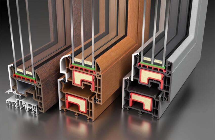 PVC profili sa toplotnim ojačanjem