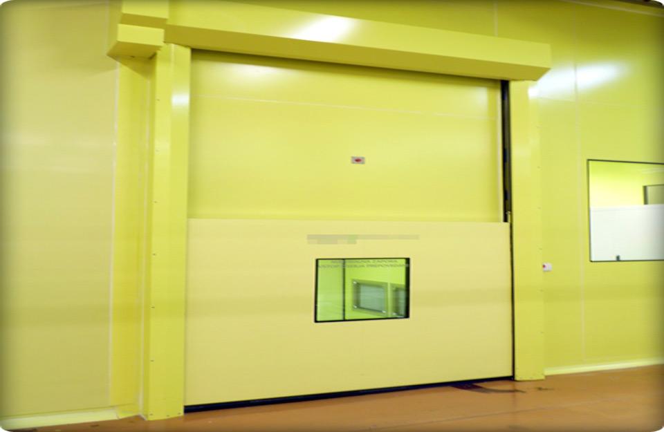 Hermetička vrata u laboratorijama