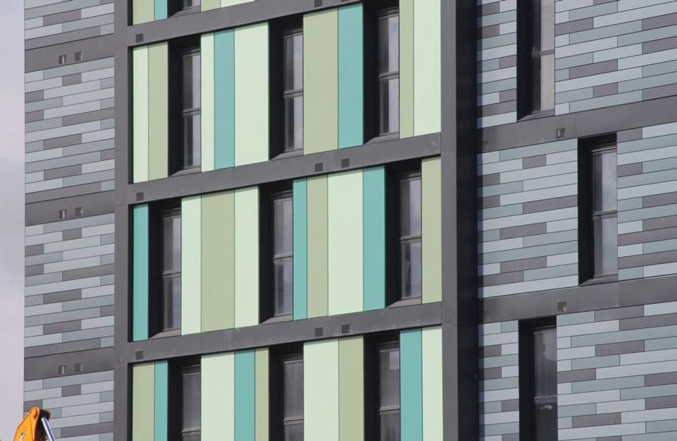 Izged modernog dizajna Alu prozora