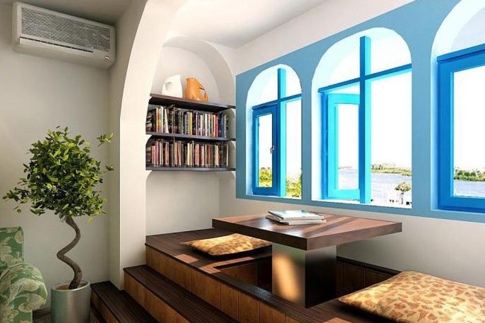 Različiti oblici i boje ramova prozora