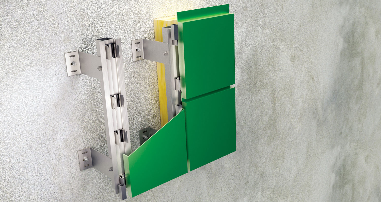 Tehnomarket TMTP je univerzalan sistem aluminijumskih podkonstrukcija