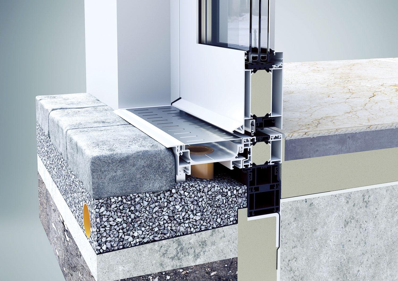 aluminijumska stolarija je prvenstveno lakša od PVC stolarije