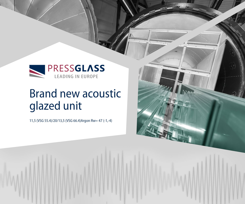 PRESS GLASS ima u ponudi preko 77 tipova akustičnog stakla