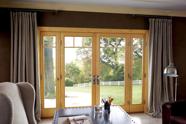 Upotrebom francuskih vrata u kućama stvara se veoma lepa i zahvalna veza