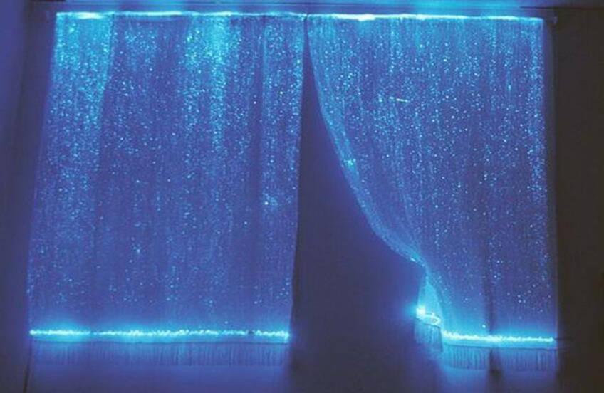 Magičnost ambijenta sa svetlosnim zavesama