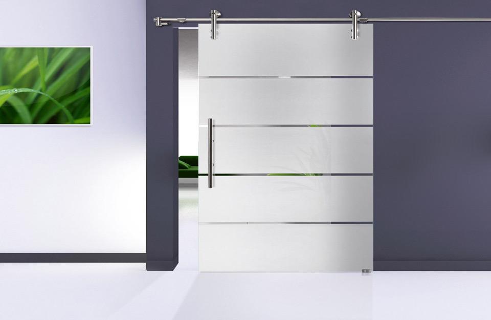 Staklena vrata u kombinaciji sa čeličnom bravarijom