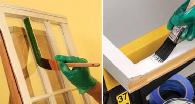 Farbanje i lakiranje stolarije – uputstvo i saveti za rad