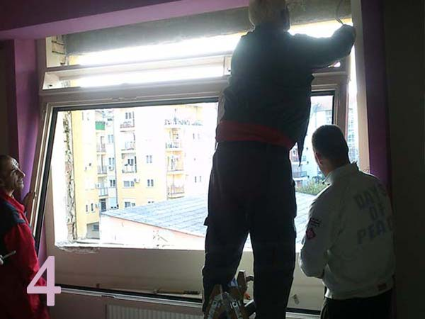 Montaža prozora