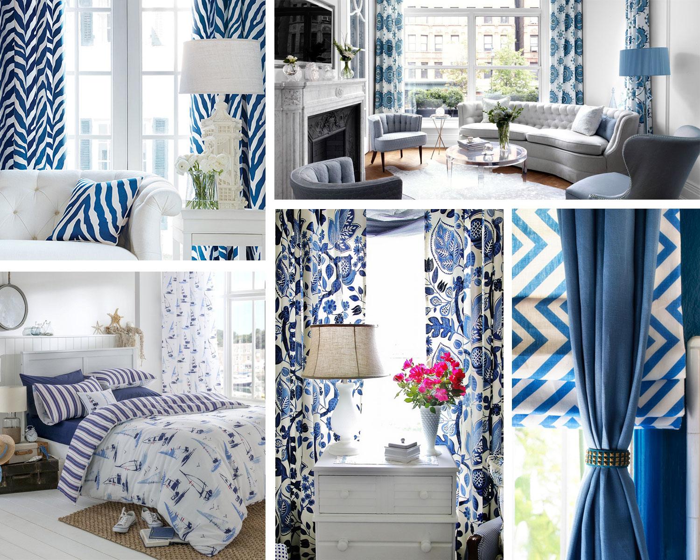 Dezen kombinacije plave i bele boje je najbolji izbor koji će prostoriji dati baš taj sjaj kojem ste težili