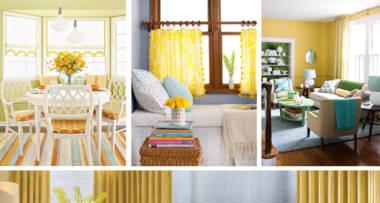 Odaberite zavese u boji koja će Vam uneti radost u dom