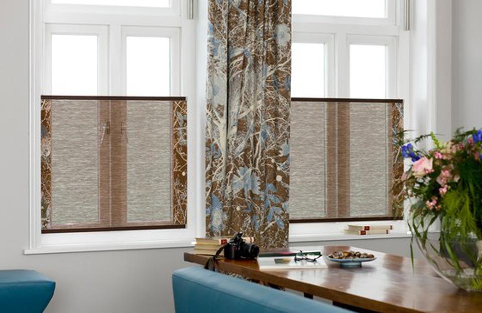 Drvene tekstil zavese