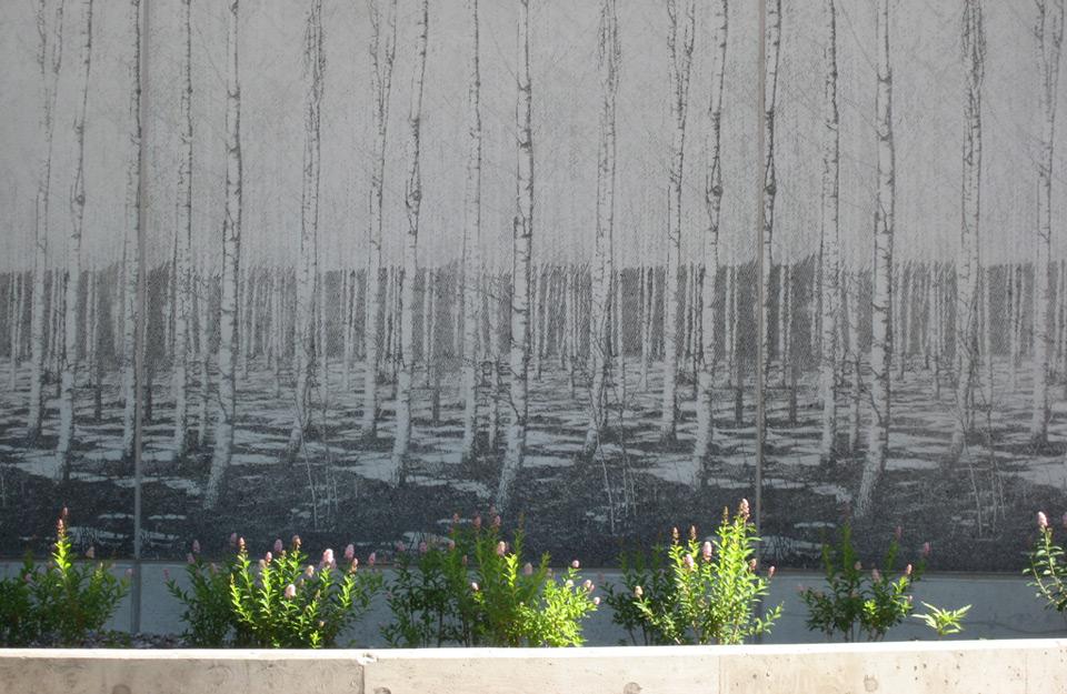 Grafički beton na ulici