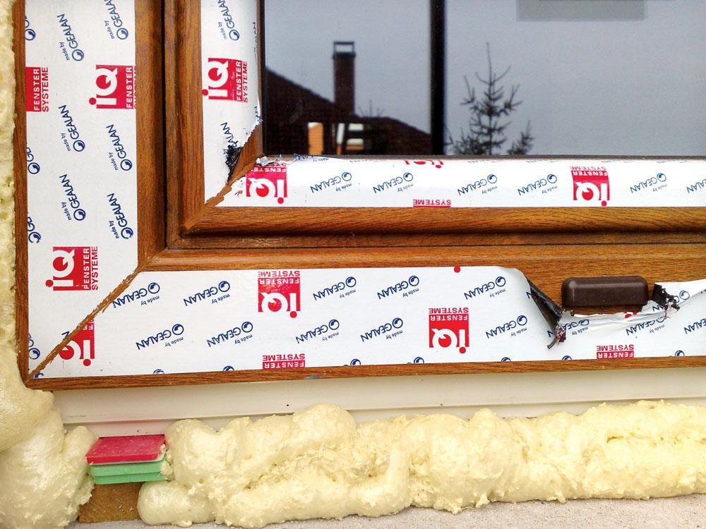 Zamena starog stakla se izvodi posebnim PVC profilima